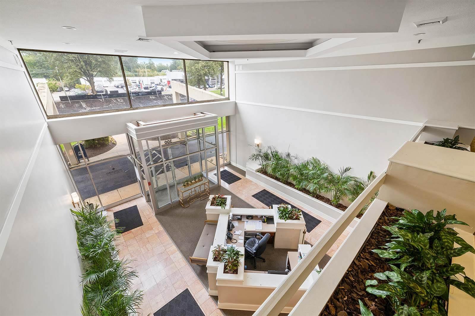 Wynnewood-House-interior-lobby-mezzanine-commercial-apartments