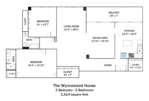 Wynnewood-2Bd-2Ba-1614sqft